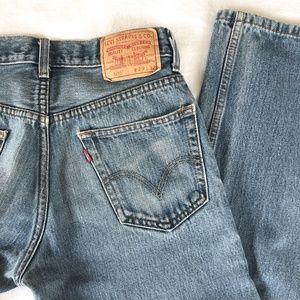 Levi's 505 Vintage Mom Denim Jeans